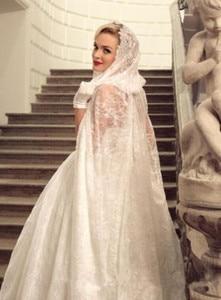 Image 2 - Lace Bridal Cloak Lace Elven Cape Medieval Wedding Cape with Hood