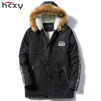 Long Winter Jacket Men Keep Warm Coat And Jacket For Male Casual Mens Thick Down Overcoat