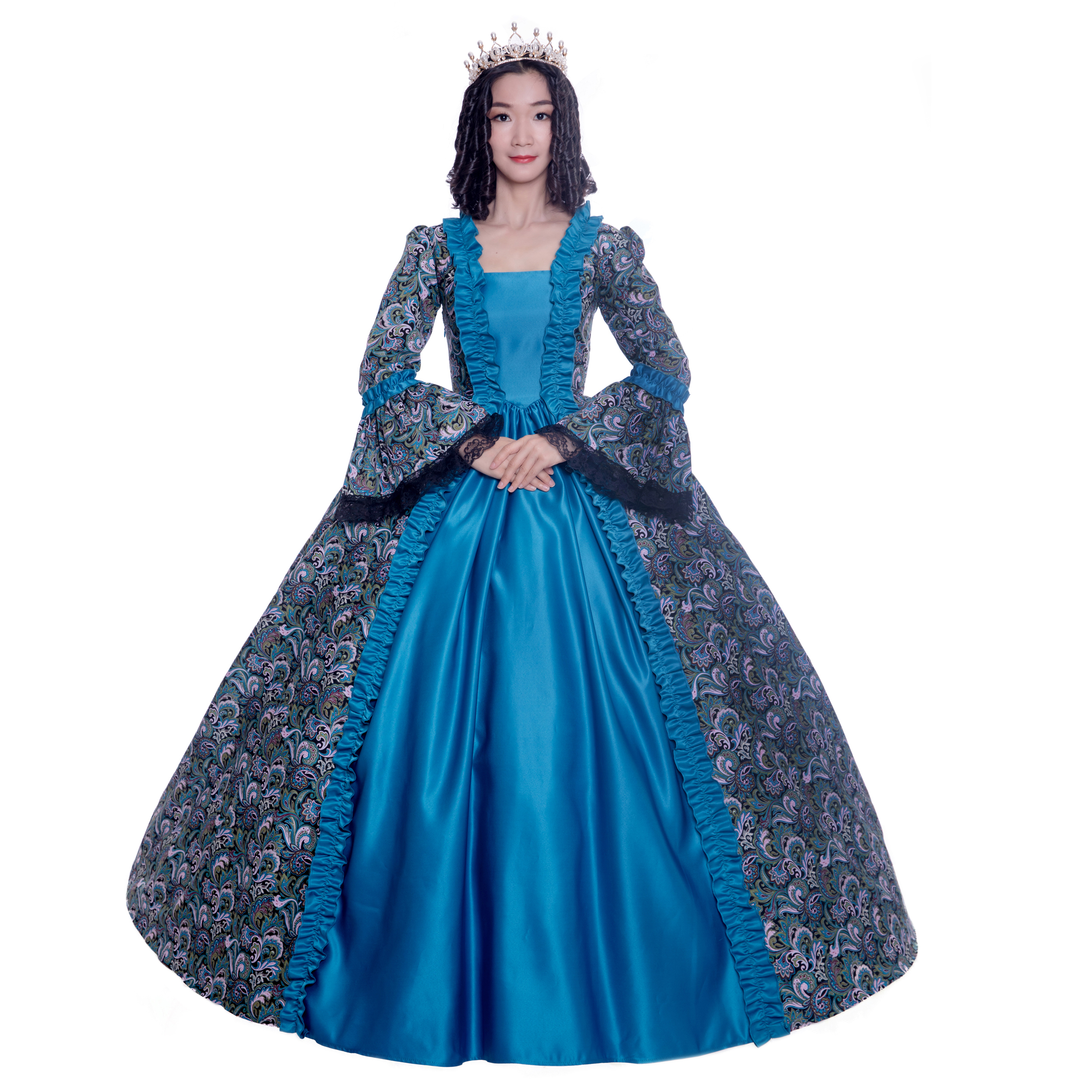 c771426584b3 18th Century Historical Stage Costume Ball Gown Halloween/Southern Belle Ball  Gown Costumes