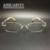 Mulheres óculos de armação óculos sem aro ópticos grife prescrição luz moda elegante de alta qualidade do transporte livre novo