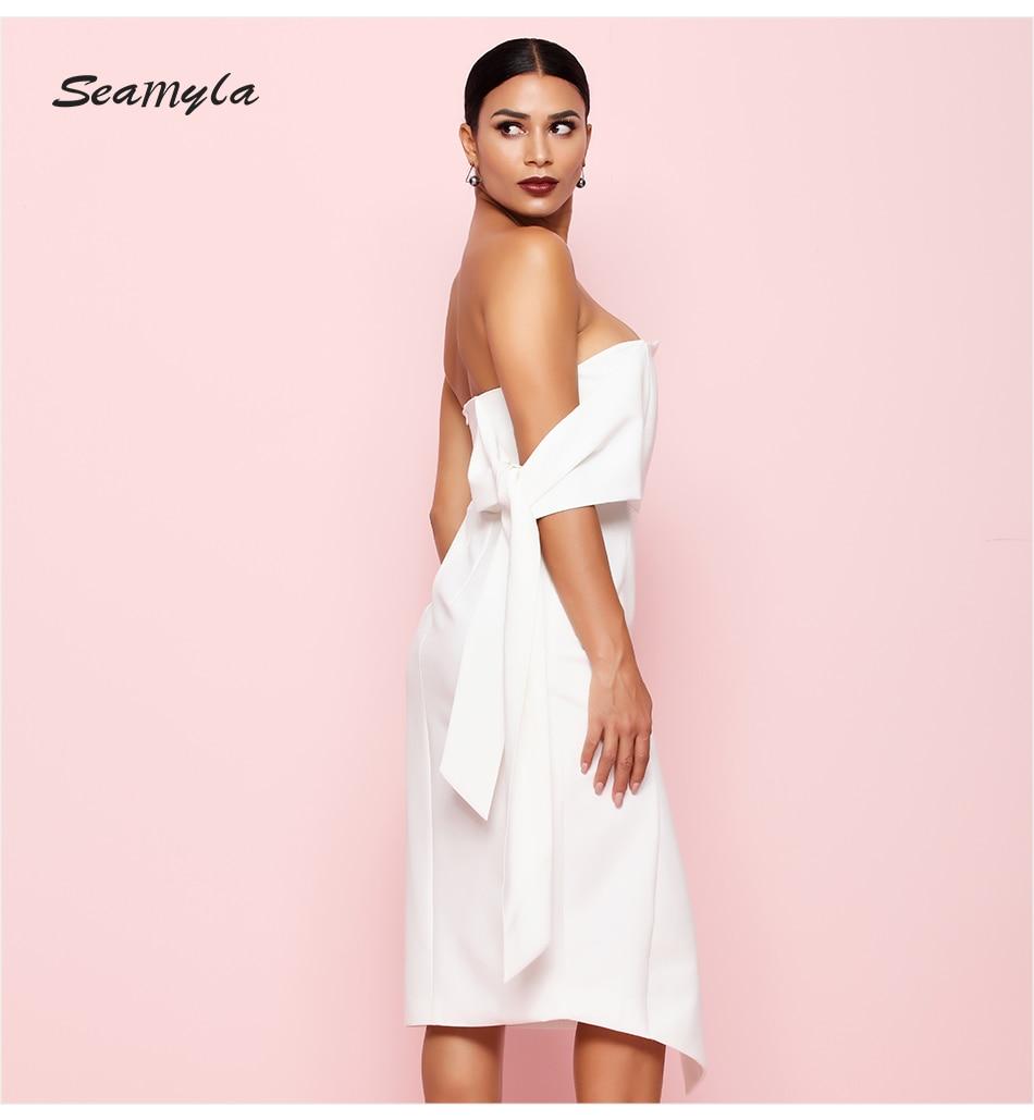 06083b2ea Seamyla elegante celebridad vestido de fiesta 2019 nuevo verano ...