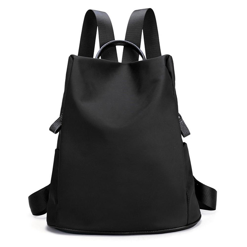 ФОТО 2017 Winter Fall High Quality PU Leather Backpacks Preppy Style Teenage Girls Black Purple Fashion Backpacks Travel Bags