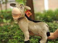 Donkey plush toys Shrek the Third Donkey 40cm Plush doll from Shrek 3 Movie In stock