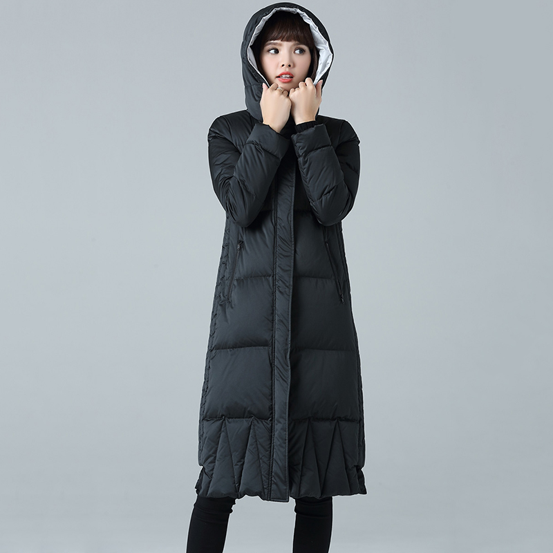 Women's Winter Jacket Women   Down   Parkas Winter Long Thickened   down   Jacket Girls Padded   Coat   Large Sizes   Down     Coats   Jackets