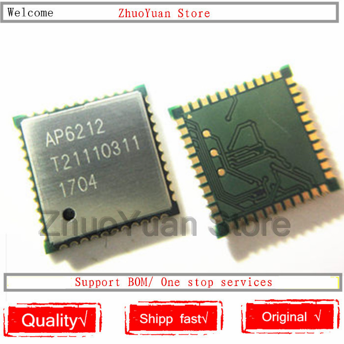 1PCS/lot 100% New Original  AP6212 Wifi Module Pin44