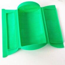Kitchenaid utensilios de cozinha verde rojo microondas horno vapor vaporera vapor de silicona de cocina saludable tazón lonchera 500 ml
