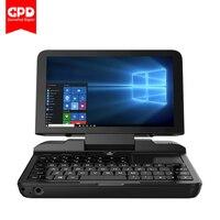 GPD микропк 6 дюймов Intel Celeron N4100 Windows 10 Pro 6 ГБ ОЗУ 128 Гб ПЗУ карманный ноутбук мини ПК компьютер ноутбук