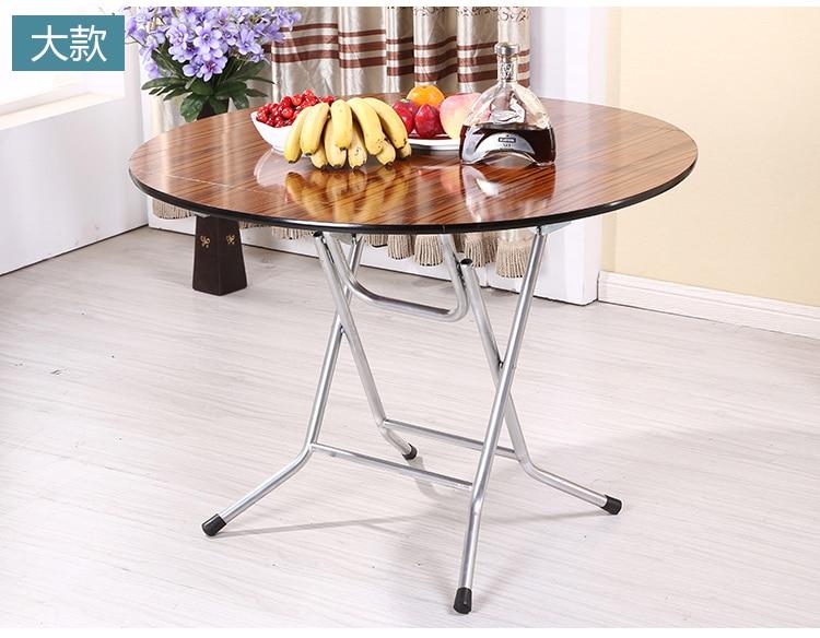 Kleine Ronde Eettafel : Vouwen vierkante ronde tafel kleine familie thuis vouwen eettafel