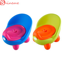 3 colors portable car children boys girls baby potty toilet seat kids potty trainers care cover urinal chair products for babies(China)