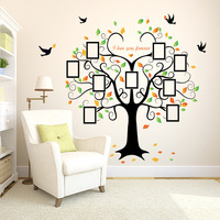 Love You Forever Quotes Decoration Wall Stickers Photo Tree Home Decor Decals Poster Stkers Mural