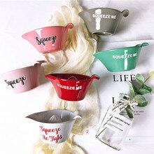 Juice Squeeze Bowl Salad Bowl Porcelain Food Dinnerware 15-19cm
