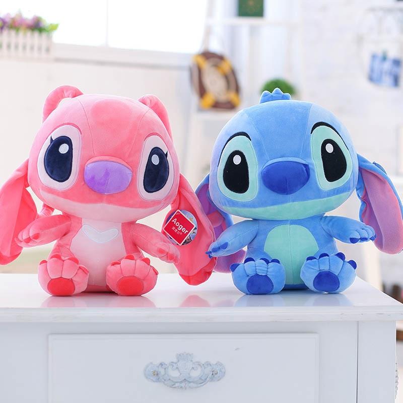 Soft Plush Stitch Plush Doll Toys Anime Lilo And Stitch 40cm Stitch Plush Toys For Children Kids Birthday Gift