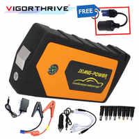 Pour voiture sortie chargeur de voiture batterie externe multi-fonction voiture saut démarreur batterie Booster 12V dispositif de démarrage d'urgence Portable