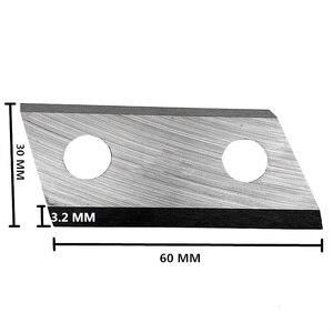Image 2 - 1 זוג גן מגרסה להבים עליז סכיני עבור אקו ES1600 McCulloch MCS2001