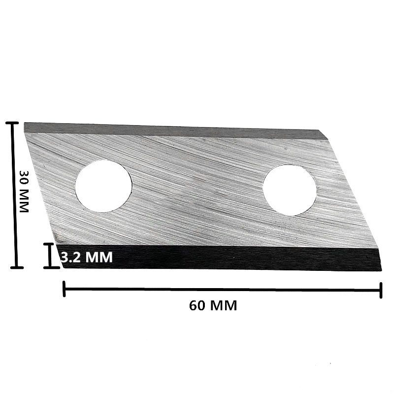 Image 2 - 1 pair Garden Shredder Chipper Blades Knifes for Eco ES1600 McCulloch MCS2001-in Tool Parts from Tools