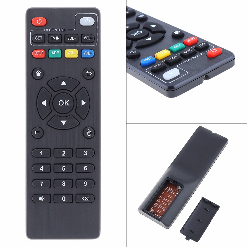 Universal <font><b>TV</b></font> Remote Control Replacement Remote with Long Transmission Distance for <font><b>MXQ</b></font> <font><b>MXQ</b></font> <font><b>Pro</b></font> <font><b>4K</b></font> X96 T9M 95N Android <font><b>TV</b></font> <font><b>Box</b></font> image