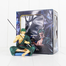 13cm Roronoa Zoro Figure Toy One Piece Zoro With Sword Anime Model Toy for Collection