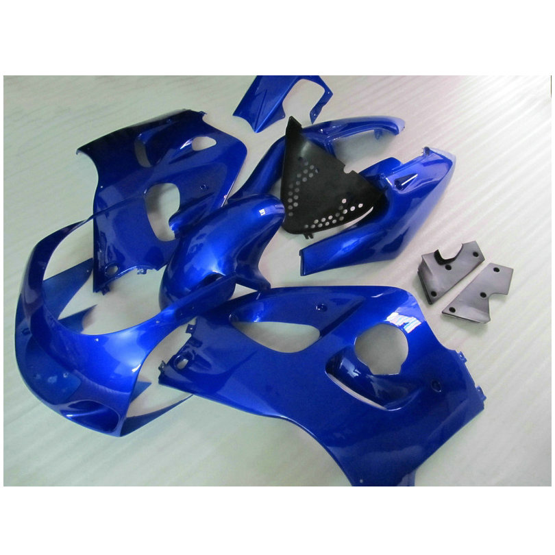 Fairing kit fit for Suzuki SRAD GSXR 600 GSXR 750 1996-2000 black blue Fairings set  96 97-00 HC-8