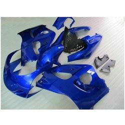 Fairing kit fit for Suzuki SRAD GSXR 600 GSXR 750 1996-2000 black blue Fairings set  96 97-00 HC-8