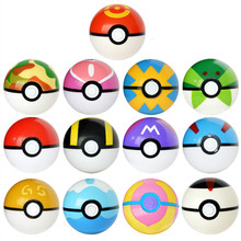DROPSHIPPING 13Pcs Pokeball+13pcs Random Figure Inside action figures Toys for children collection toys Kid Birthday Gift