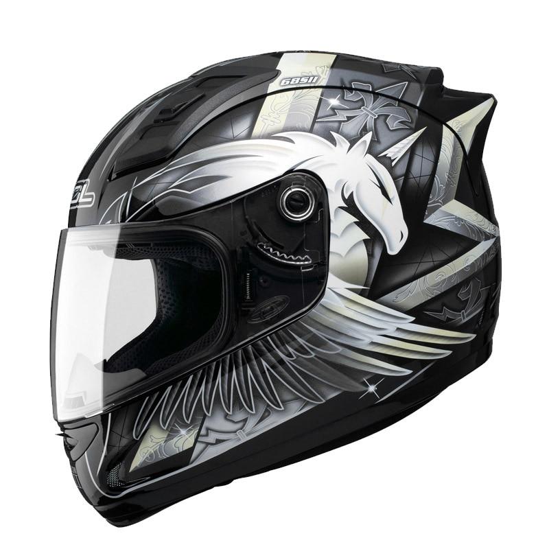 Hot sale SOL 68S 69S Unicorn full face motorcycle helmet men women motobike helmet racing DOT approve highway moto helmet 5 size