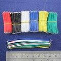 Frete Grátis 50 pcs pcb solda cabo 26AWG 7.8 cm Fly jumper cable fios Condutores de Lata cor escolher