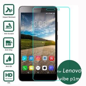 Image 2 - Tempered Glass For Lenovo Vibe P1m P1 m P1mc50 P1ma40 5 inch 2.5D 9H Phone Premium Protective Film Screen Protector Case Guard