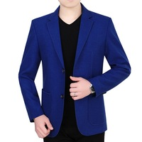 Blazer Slim Fit Men Clothes Fashion Design Korean Blazer Slim Fit Plus Size Suit Mens Jacket