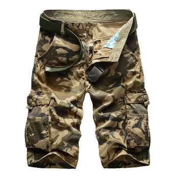 Militares Hombres Hombre Suelto Camuflaje Pantalones Nuevo Cortos 2019 Casual Para Trabajo QrBoeWdCx