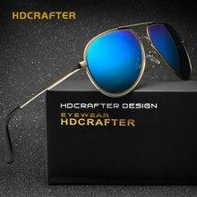 HDCRAFTER New Brand Designer Mens Casual Polarized Sunglasses UV 400 Protect Eyewear Fishing Sun Glasses oculos masculino de sol