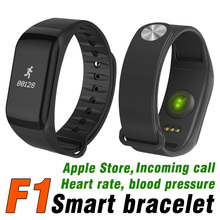 F1 Smart Bracelet Bluetooth4.0 Mobile Phone SmartWatch For Android IOS Sport Blood Pressure Heart Rate Sleep Smart Wristbands S2