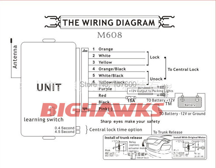 HTB1jX5EGXXXXXbPXpXXq6xXFXXXQ 1 set, mobil mobil yang universal remote lock central locking k908 big hawks keyless entry system wiring diagram at n-0.co