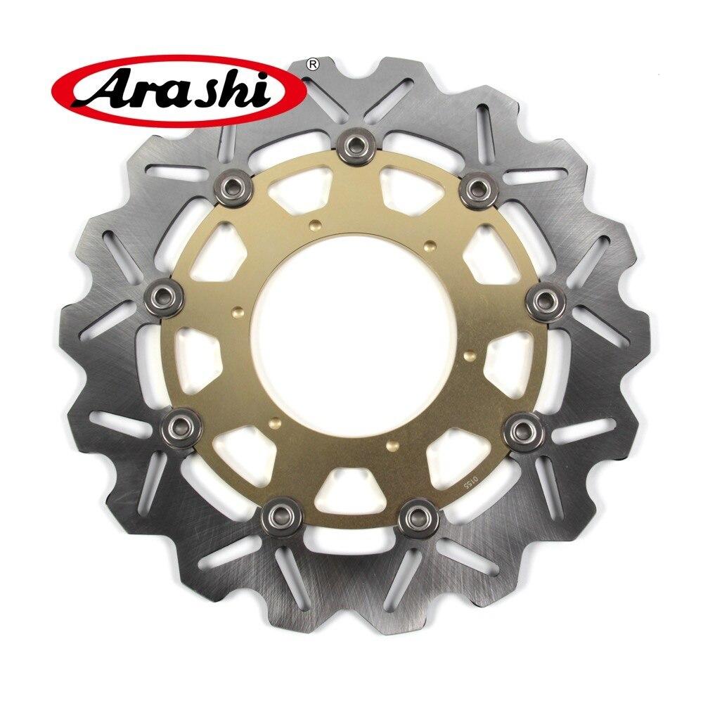 Arashi 1PCS F650GS 2001-2007 CNC Front Brake Discs Brake Rotors For BMW F 650 GS 2001 2002 2003 2004 2005 2006 2007 arashi 1pcs cnc floating front brake disc brake rotors for cagiva mito 525 125 2006 2007 mito 125 1991 1992 1993 1994