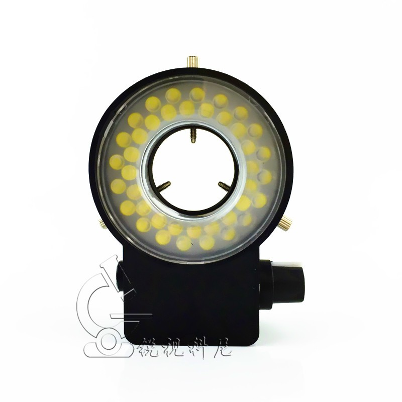 40 White LED Ring Lights Brightness Adjustable Light Source For Video Microscopeled LED Illumination40 White LED Ring Lights Brightness Adjustable Light Source For Video Microscopeled LED Illumination