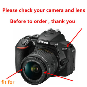 Image 5 - 55mm 2.2x magnification Telephoto Lens for Nikon D3400 D3500 D5600 D7500 with AF P DX NIKKOR 18 55mm f/3.5 5.6G VR Lenses