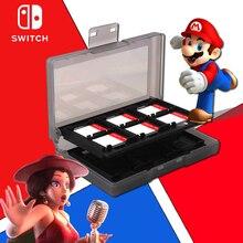 Zend Switch аксессуары 24 в 1 игровая Карта памяти Micro SD чехол держатель для nintendo Switch NS хранение картриджей коробка