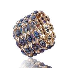 Винтажные браслеты и браслеты в богемном стиле из сплава с кристаллами модные ювелирные изделия широкие эластичные браслеты с рисунком глаза лошади для женщин и девушек