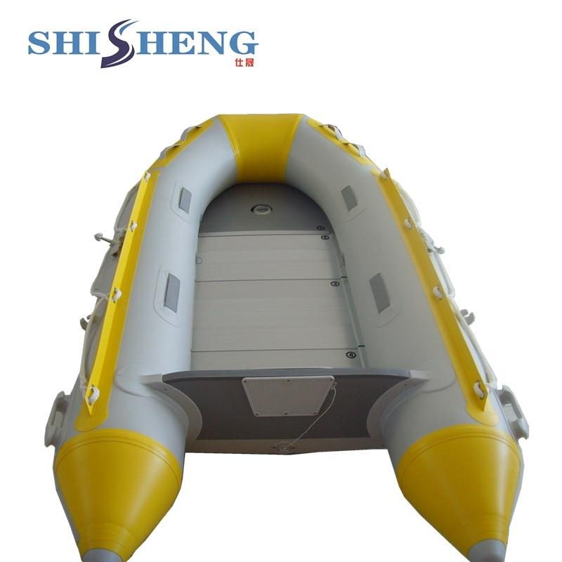 Petit bateau gonflable d'appât de pêche de contrôle de Sport de PVC avec le moteur hors-bord à vendre