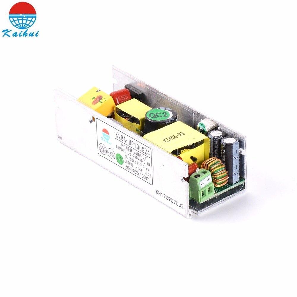 AC 110 V 220 V DC 24 V 100 W Светодиодный драйвер питания для 100 W светодиодные полосы освещения