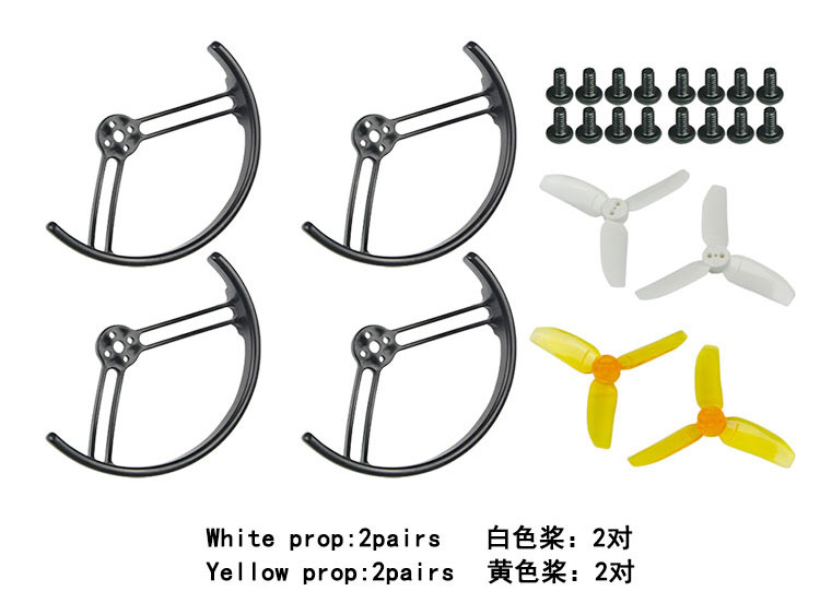 цена на 2.8 inch 2840 Propeller Prop Guard Protector Bumper for KingKong Drone Quadcopter Half Surround/ All Surround F21478/81