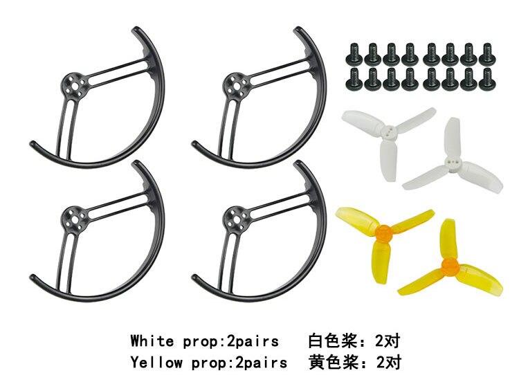 2,8 zoll 2840 Propeller Prop Schutzfolie Stoßstange für KingKong Drone Quadcopter Halb Surround/Alle Surround F21478/81
