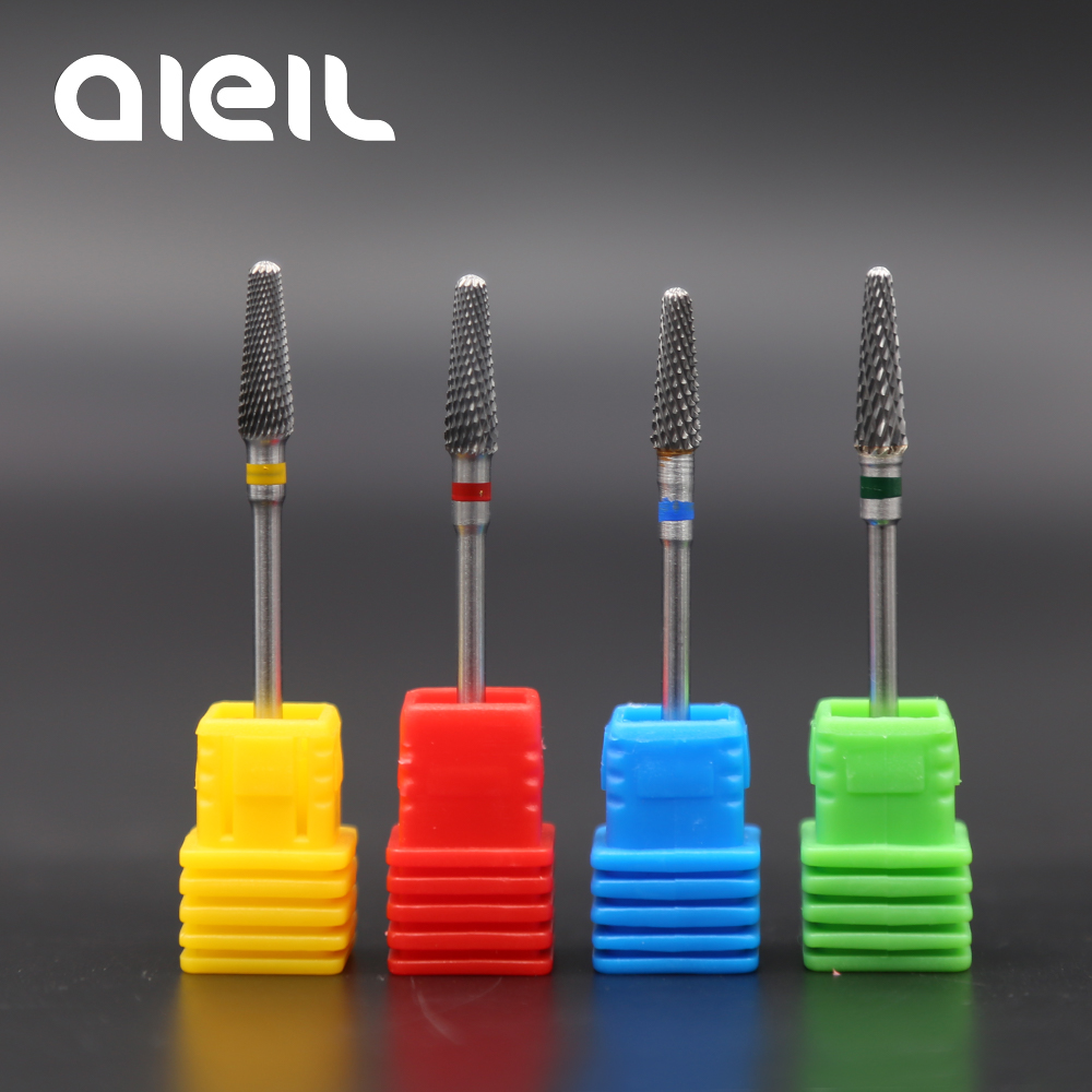 Tungsten Carbide Milling Cutter Burrs Nail Drill Bits Machine Nail Cutter  Nail File Manicure For Manicure Nail Art Accessories