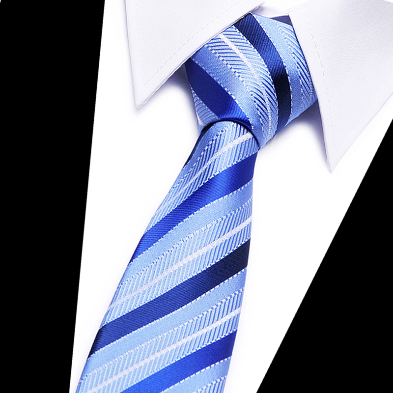 Top Quality Mens Tie Solid Plain 100% Silk Slim 7.5cm Skinny Narrow Gravata Necktie Ties For Men Formal Wedding Party