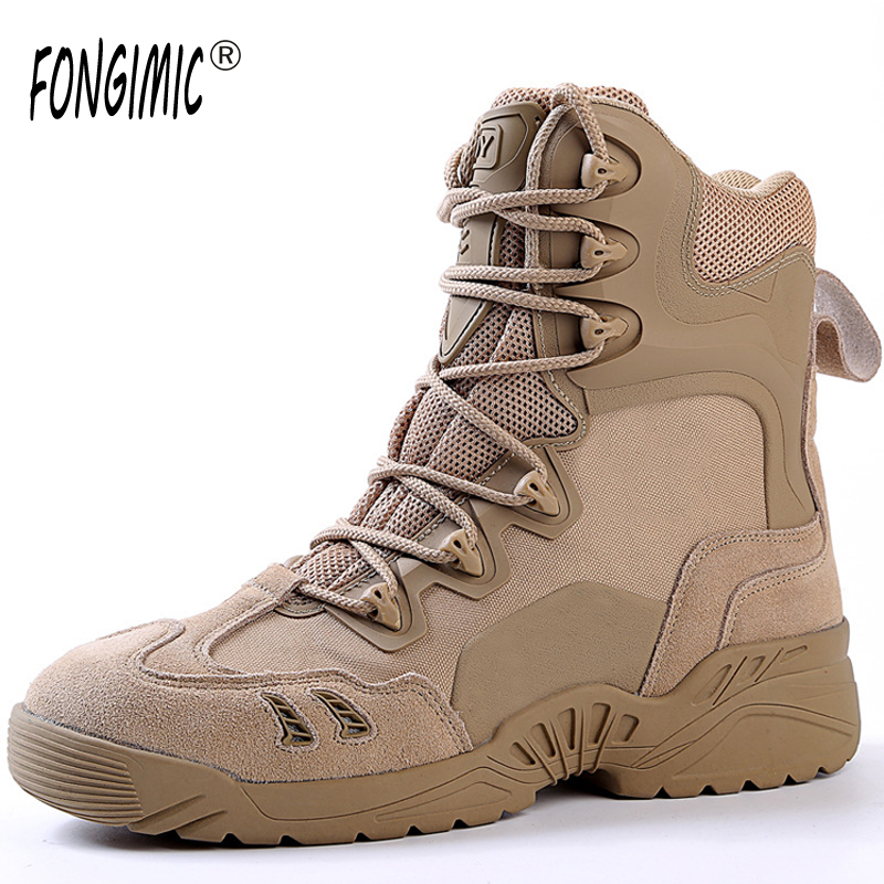 Outdoor Wear Men High Quality Boots Btreathable Male Shoes Lace up Spring Autumn Hot Sale Special Design Ankle Cozy Work Safety new original transformation 5 robot toy deformation car robot action figures toys brinquedos children toys gifts