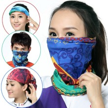 Outdoor sports seamless changed magic scarf scarf mask collar men and women wind is prevented bask in collar prevent sweat towel