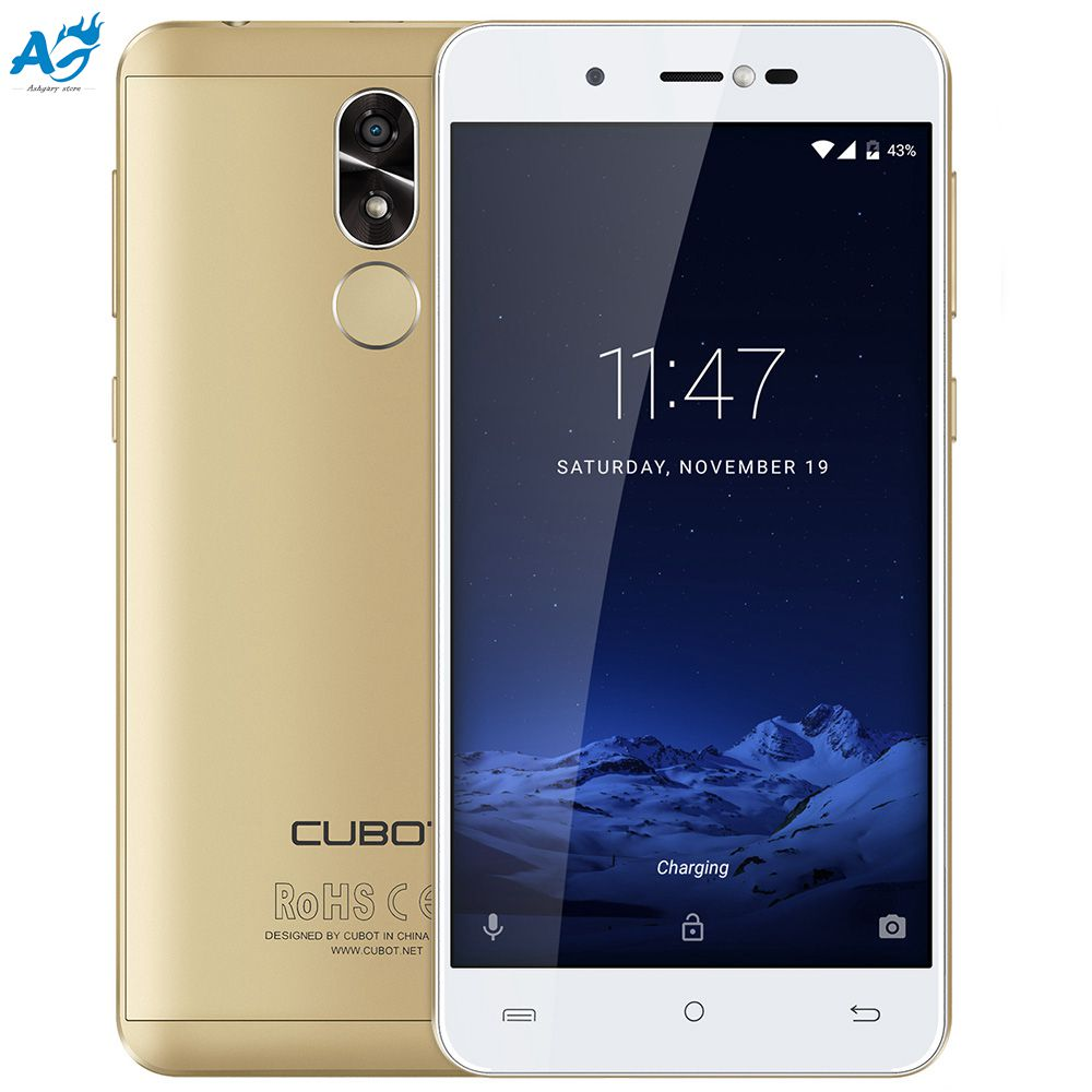 Original CUBOT R9 3G Smartphone Android 7 0 13 0MP With AF And Flashlight Front Camera