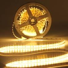 High Brightness 5M 600 LED 3528 SMD Flexible LED Strip Light Tape Non Waterproof Pure/Warm White DC12V Indoor Home Decoration