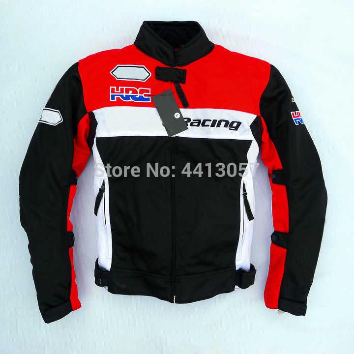 Мотоциклетная Защитная куртка для Honda зима лето Off-Road куртка для езды с протектором съемный вкладыш