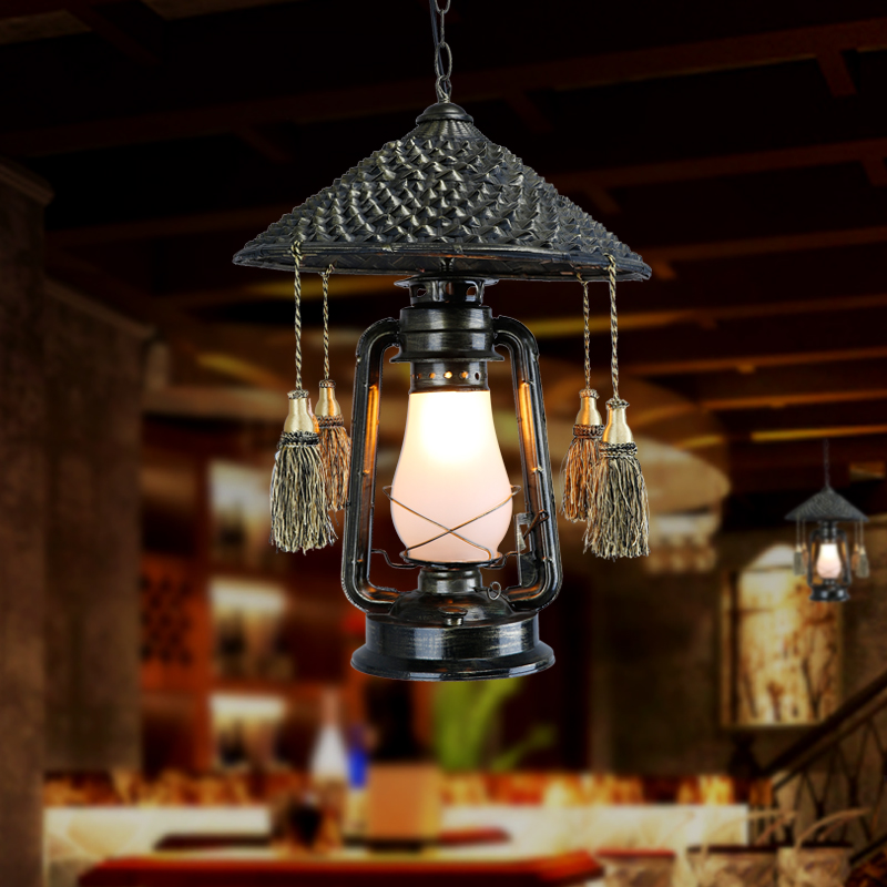 Cafe Droplight Bamboo Lamps And Lanterns Of Cany Art Restores Ancient Ways Lantern Kerosene In Pendant Lights From Lighting On Aliexpress