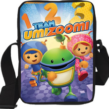 Handbags Team-Umizoomi Crossbody Messenger-Bags Shoulder Character Children Casual Cartoon
